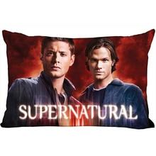 Pillow Cases Supernatural Decorative Bedroom Rectangle Home Zipper Satin-Fabric-10-10