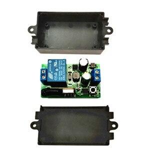Image 4 - 433MHz universal wireless remote control switch, AC.85 V, 110 V, 220 V, 1CH relay receiver, module and 433 MHz.EV1527 RF remote