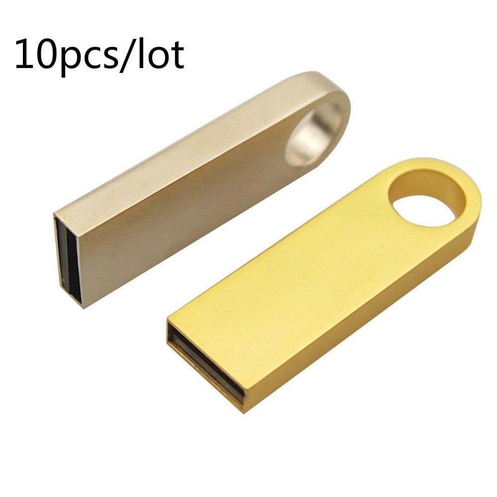 10 יח'\חבילה משלוח לוגו USB דיסק און קי אמיתי קיבולת Pendrives 4gb 8gb 16gb 32gb זיכרון U מקלות עבור צילום מתנת משלוח חינם