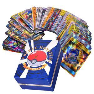 Image 2 - Jeu de cartes de 120 pièces, jouet avec une équipe de 30 étiquettes, 50 mega,19 entraîneurs, 1 énergie, 20 ultra bête