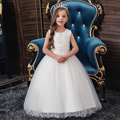 Long Children's Dress Princess Dress Flower Children's Wedding Dress Evening Dress Girl Piano Performance Dress