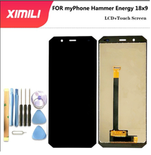 5.7 inch myPhone Hammer Energy 18x9 LCD Display+Touch Screen Digitizer Assembly 100% Original New LCD+Touch Digitizer for Hammer стоимость