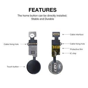 Image 4 - Neue Aktualisiert Ende Edition Universal Return Key Für IPhone 7 8 7 Plus 8 Plus Home Button Flex Kabel 3rd generation