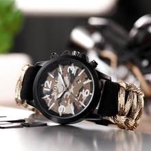 Часы мужские спортивные в стиле милитари брендовые уличные камуфляжные
