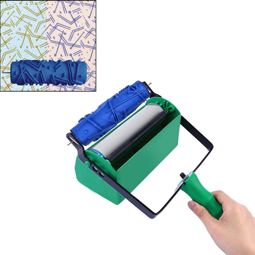 Машина для окраска валиком с одной или Двойной Текстурой DIY для украшения стен дизайн интерьера дизайн для дома дизайн обоев