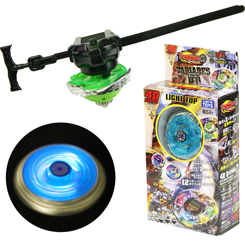 Hot Beyblades Burst Metal Fusion Toys For Boys LED Light Emitting Gyro Tops Gyroscope Beyblades Arena Classic Toys For Children(China)