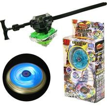 Hot Beyblade Metal Toys For Boys LED Light Emitting Gyro Tops Set Gyroscope