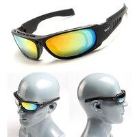 데이지 C6 전술 고글 남자 편광 안경 Paintball Airsoft 슈팅 안경 야외 오토바이 하이킹 안경