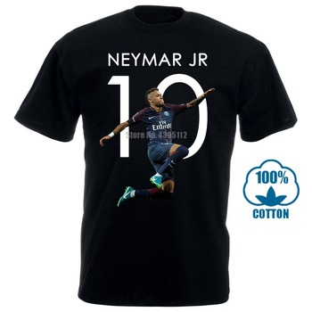 Neymar Jr 10 Psg T Shirts Funny T-Shirt Men Brand New Arrival Summer Men'S T-Shirt Hip Hop T-Shirts Black T Shirt Funny T Shirts t audel