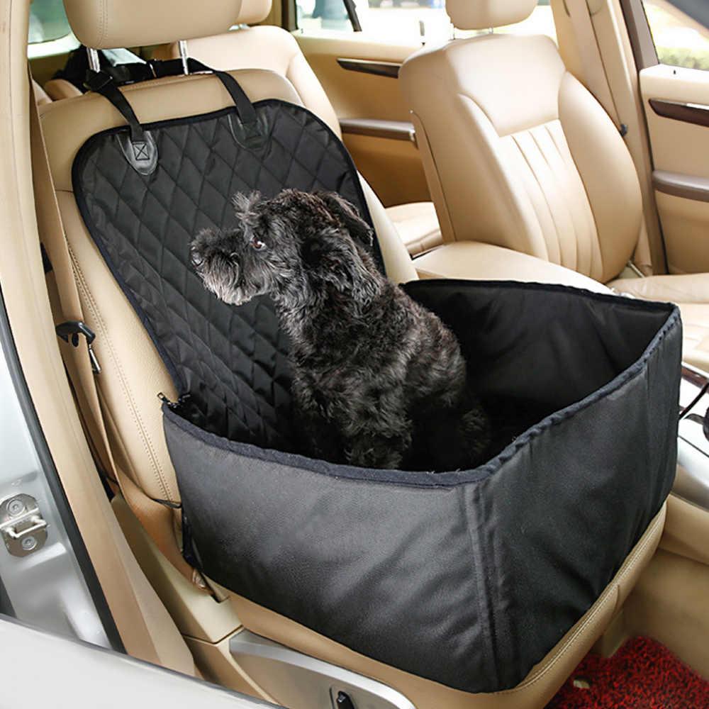 Кошка сумка для щенков собака автомобильное сиденье Собака Перевозчик коврик товары для домашних животных безопасный дом для переноски водонепроницаемый собака сиденье сумка Корзина