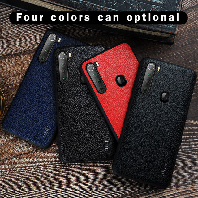 MOFi Redmi Note 8 Note 8 Pro PU Leather Shockproof Back Case Cover