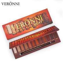 VERONNI Charming Eyeshadow 12 Color Shimmer Matte Eye shadow Palette  EyeShadow Powder Fashion Make up