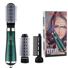 Ckeyin 3 In 1 Hair Dryer Hot Air Styler Brush Volumizer Salon Negative Ions Hair Straightener Curler Comb Roller Blow Dryer 45