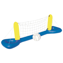 Inflatable Volleyball Net Ball Set Floating Water Volleyball Game Water Entertainment Tool Adult Family Children Party Pool Game