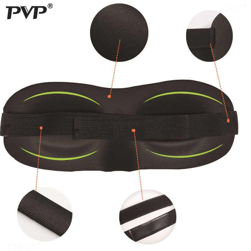 3D uyku maskesi doğal uyku göz maskesi siperliği kapak gölge göz bandı kadın erkek yumuşak taşınabilir körü körüne seyahat Eyepatch 1 adet