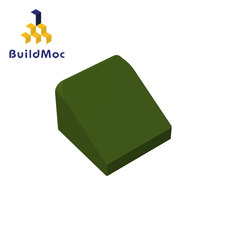 BuildMOC 54200 Slope 30 1 X 1 X 2/3 Brick Technic Changeover Catch For Building Blocks Parts DIY Educational Creative Gift Toys