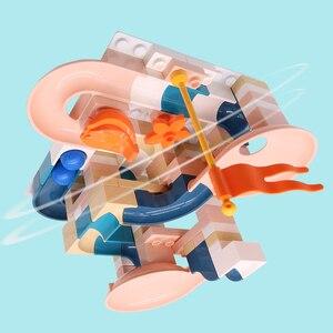 Neue Große Größe Klassische Marmor Rennen Run Bausteine Kompatibel Duploe Block Bau Gebäude Spielzeug Für Kinder Kinder Geschenk