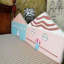 Valla de cama Simple para recién nacido, valla de cama de prevención de caídas y caídas para bebés, valla de cabecera para bebés, bolsa suave, cerca de cama Universal