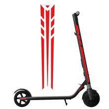 Набор светоотражающих стильных стикеров высокого качества электрический скутер скейтборд Светоотражающая наклейка s для Ninebot ES1 ES2 ES3 ES4# P10