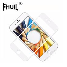 9H Glossy 3D Screen Protector Tempered Glass Curved Carbon Fiber Soft Edge high quality full cover For iPhone 6 6S 7 8 X Plus