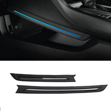 Yeni Ortam Işığı Honda Civic 2016 2017 2018 İç Merkezi Konsol Mavi LED Atmosfer Lamba