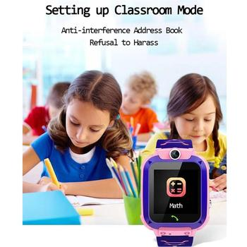 Q12 Children's Smart Watch SOS Phone Watch Smartwatch For Kids With Sim Card Photo Waterproof IP67 Kids Gift For IOS Android Z5S 4
