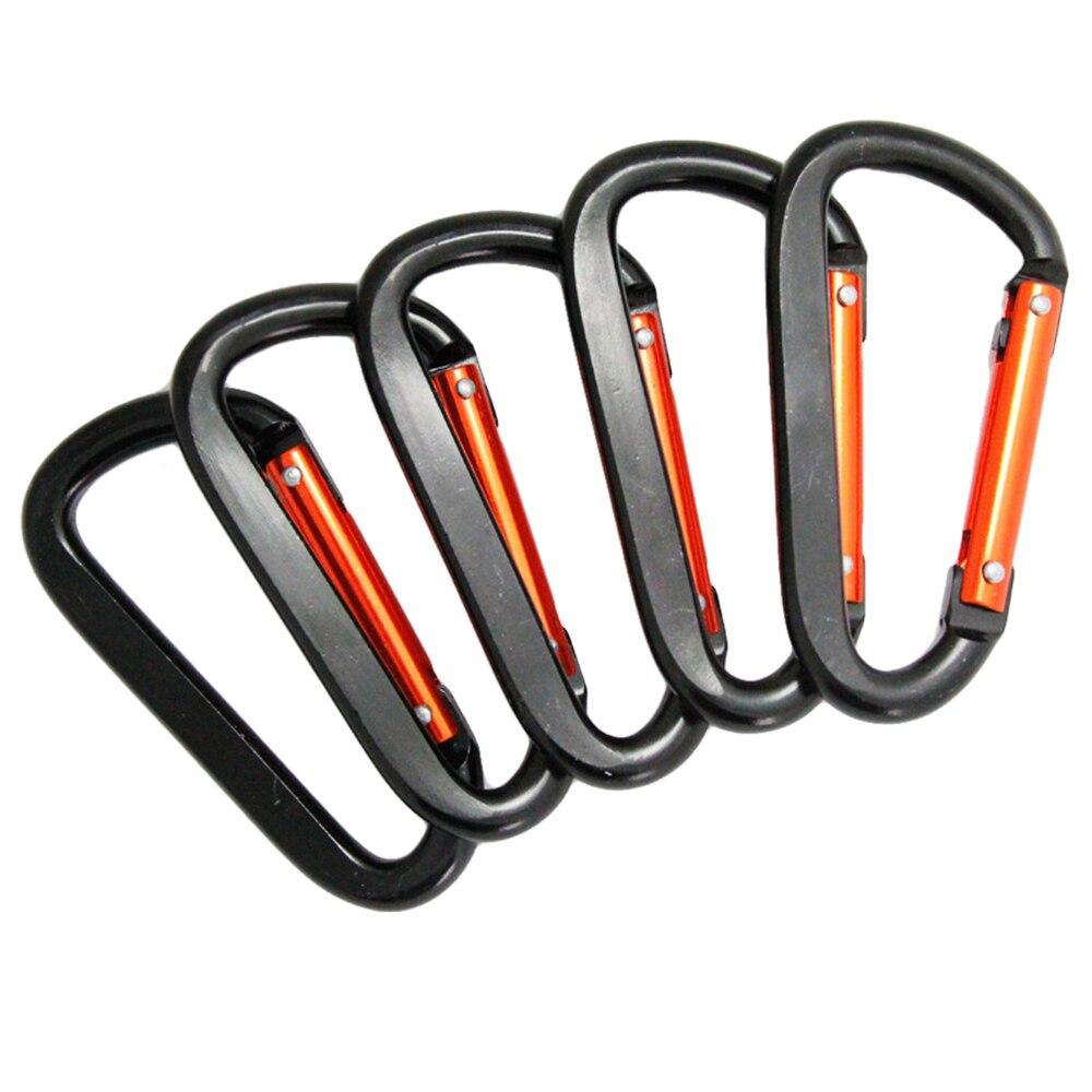 Le Jeune moderne.-Mousqueton aluminium couleur pour clefs, gourde, portable, etc...-Lot de 5 mousquetons en aluminiumpour accrocher tout ce que bon vous semble. Ne doit pas être utilisé comme élément de sécurité pour les activités sportives.