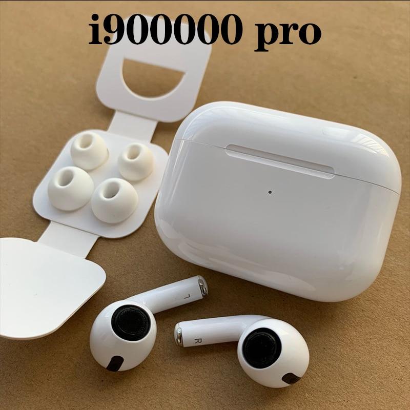 Original I900000 Pro Tws Copy 1:1 Airpodding Pro Pressure Sensor Earbuds Wireless Bluetooth Earphones PK  MX  AP Air Pro 3 TWS