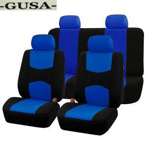 GUSA luxury Cloth car seat covers for dacia duster dokker daewoo lanos matiz nexia Automobiles Seat Cover auto accessorie(China)