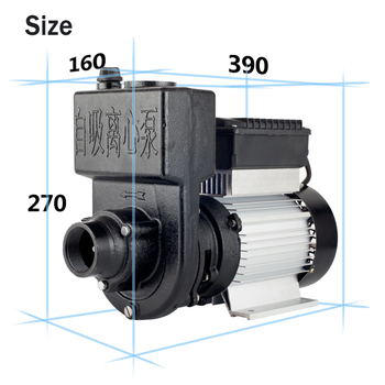 220V 1100W household well self-priming pump large flow agricultural irrigation pump high pressure sewage pump  vacuum pump qy oil immersed submersible pump 380v agricultural irrigation high lift large flow deep well three phase pump