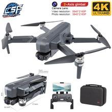 Drone pliable F11 PRO avec caméra Gimbal HD 4K, WiFi, FPV et GPS, quadrirotor RC, sans balai, pour photographie aérienne, pour professionnel, nouveauté 2020,
