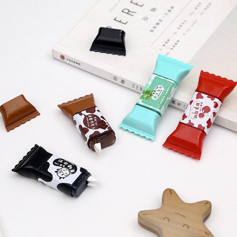 1 Piece Lytwtw's Cute Kawaii Candy Sweet Correction Tape Stationery Office School Supplies Gift nice things corrector novel Tool(China)