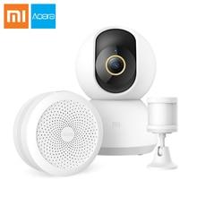 Monitor Aqara Webcam Wifi Mi-Ip-Camera Xiaomi Home-Security Baby Smart 360 Wireless Gateway