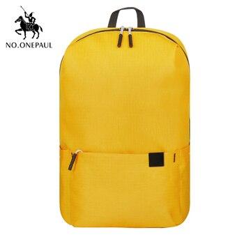 Mochila impermeable NO.ONEPAUL para hombre, mochila de viaje para hombre, mochila para...