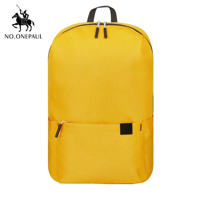 NO.ONEPAUL Waterproof Backpack Men Fashion Men Bags Travel Backpack Laptop Backpack Best Quality Outdoor Mochilas Bags For Men