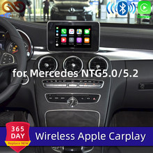 Sinairyu Draadloze Apple Carplay Voor Mercedes A B C E G Cla Gla Glc S Klasse Auto Play Android Auto /Mirroring 2015-2019 NTG5 W205(China)