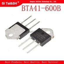 2 sztuk / partia BTA41-600B BTA41600B BTA41 BTA41-600B Triaki 40 Amp 600 Volt TO-3P nowy oryginał