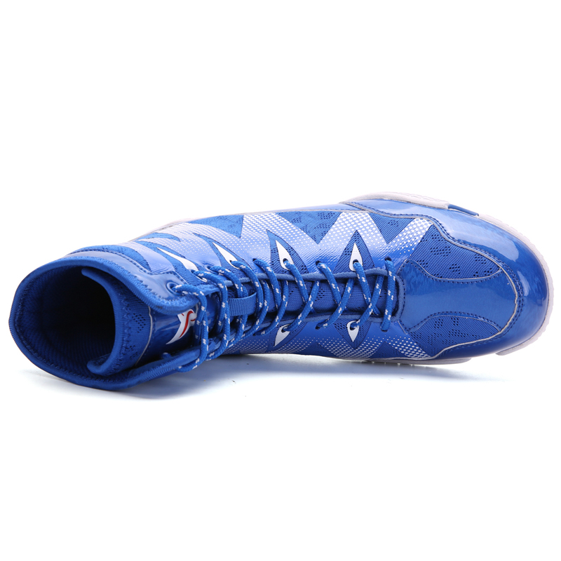 2020 Professional Wrestling Shoes Men High Quality Fighting Wrestling Sneakers Breahtable Boxing Shoes Men Light
