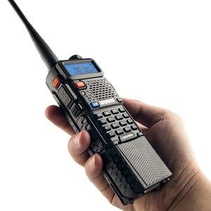 Image 2 - Baofeng UV 5R 3800mAh ווקי טוקי 5W Dual Band נייד רדיו UHF 400 520MHz VHF 136 174MHz UV 5R שתי דרך רדיו נייד