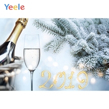 Yeele Christmas Party Photocall New Year Wine Cheer Photography Backdrops Personalized Photographic Backgrounds For Photo Studio