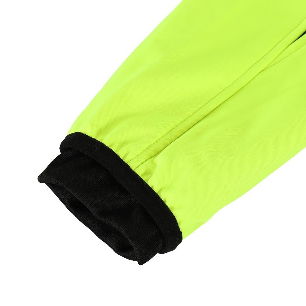 Купить с кэшбэком ARSUXEO Winter Cycling Jacket Thermal Fleece Warm Up Bicycle Clothing Windproof Waterproof Soft shell Coat MTB Bike Jersey 15-K