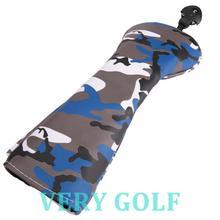 1 шт., Гибридный чехол для головы Golf Club из мягкого полиэстера и кожи с камуфляжным рисунком, Гибридный чехол для головы без ярлыка 3, 5, 7, x