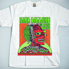 king gizzard and the lizard wizard august 13, 2019 greek theatre. la new t shirt Summer Style Hip Hop Men T-Shirt Tops