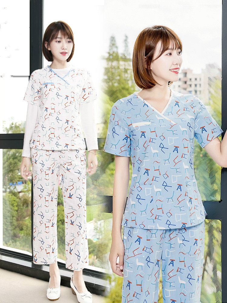 The New Surgical Clothing Korean Version Of The Doctor's Operating Clothes Beauty Parlor Doctor Hand-washing Clothes