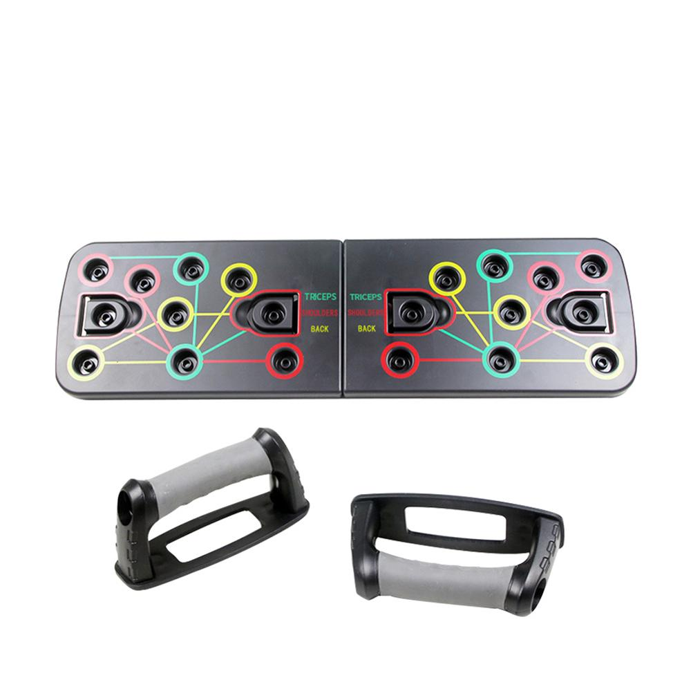 9 In 1 Push Up Board Body Comprehensive Exercise Bracer Building Workout Training Gym Exercise System Push Up Stand Borad