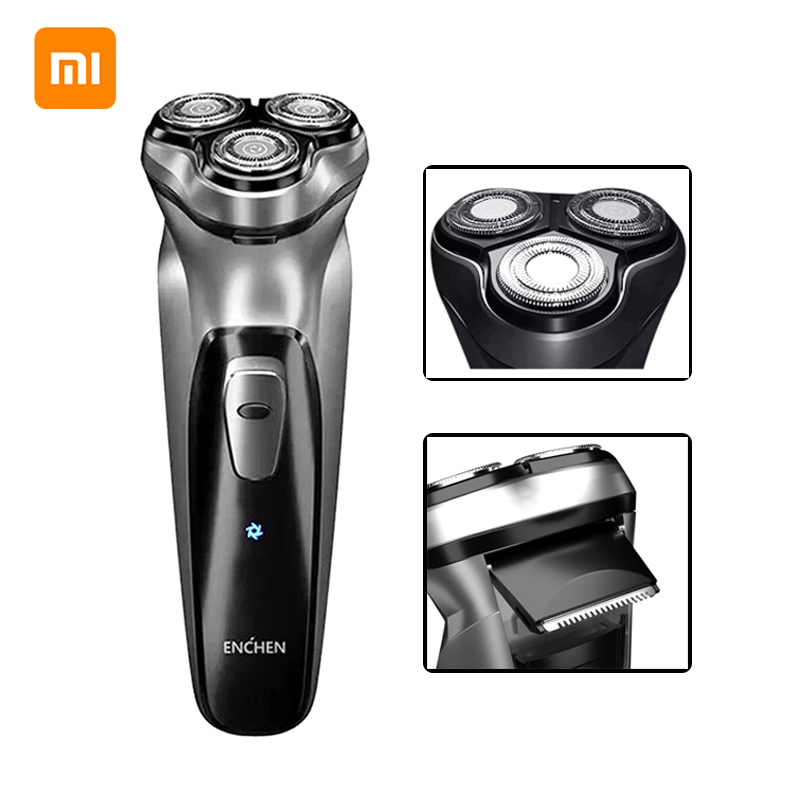 Xiaomi Beard Trimmer Razor Cutting-Machine Electric-Shaver 3-Blades Rechargeable Type-C title=