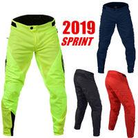 2019 Sprint Motorcyle Downhill Pants MTB Polyester MX DH Pants ATV XC BMX Off Road Motocross Riding Pants size 30 38