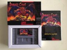 16Bit Oyunları ** Iblis Crest (USA Versİyonu! Kutu + Manuel + Kartuş!!)
