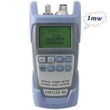 AUA 9 1mw Laser Power FTTH fibra ottica misuratore di potenza ottica Tester per cavi consegna gratuita