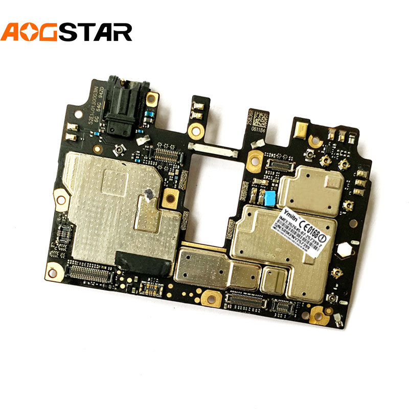 Aogstar Mobile Electronic Panel F1 Mainboard Motherboard Unlocked With Chips Circuits For Xiaomi Pocophone Poco F1